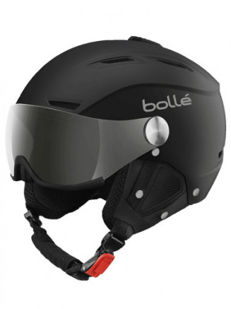 Adults Backline Visor Helmet Black