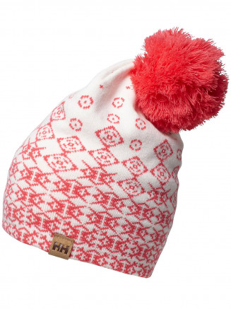 Mens Womens Graphic Beanie Pink