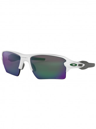 Mens / Womens Flak 2.0 XL Sunglasses Polished White - Prizm Jade Lens