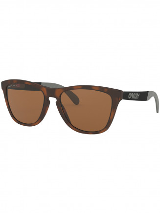 Mens / Womens Frogskins Mix Sunglasses Matte Brown Tortoise - Prizm Tungsten Polarized Lens
