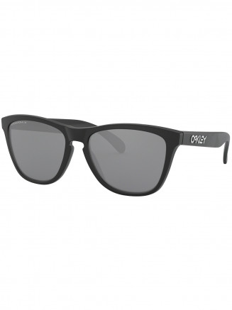 Mens / Womens Frogskins Sunglasses Matte Black - Prizm Black Polarized Lens
