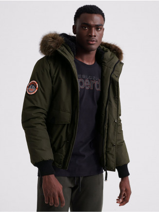 Mens Everest Bomber Green