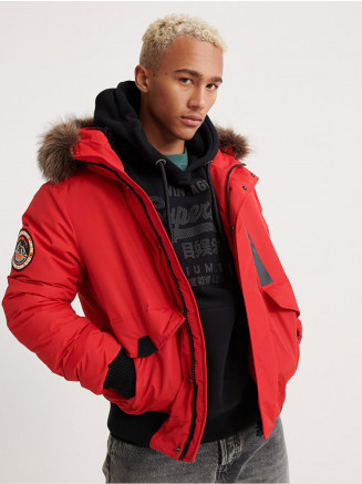 Mens Everest Bomber Red