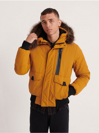 Mens Everest Bomber Yellow
