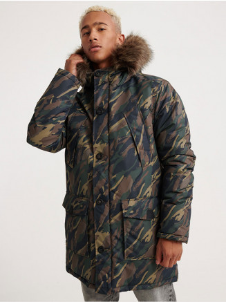 Mens Everest Parka Green