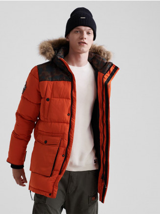 Mens Sd Edplorer Parka Orange