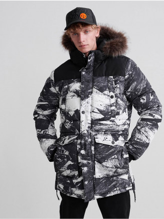 Mens Sd Edplorer Parka Green