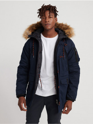 Mens Sdx Parka Blue