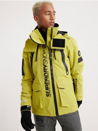 Mens Ultimate Snow Rescue Jacket Yellow