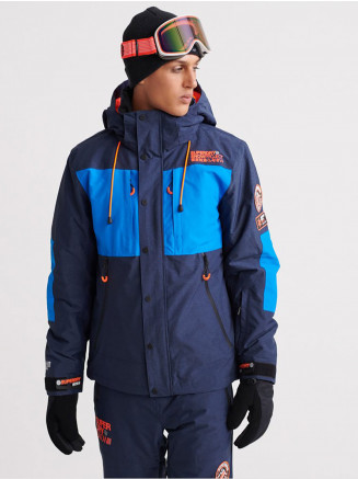 Mens Sd Mountain Jacket Blue