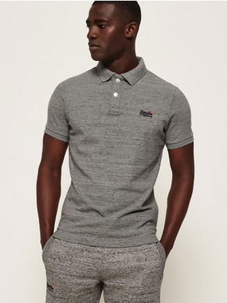 Mens Classic Pique S/s Polo Grey