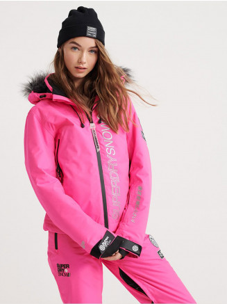 Womens Sd Ski Run Jacket Pink