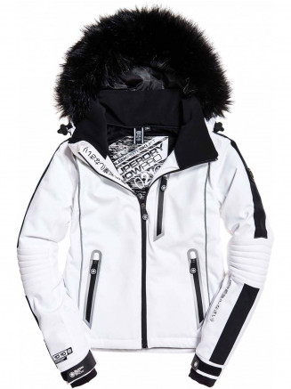 Womens Ski Carve Jacket White