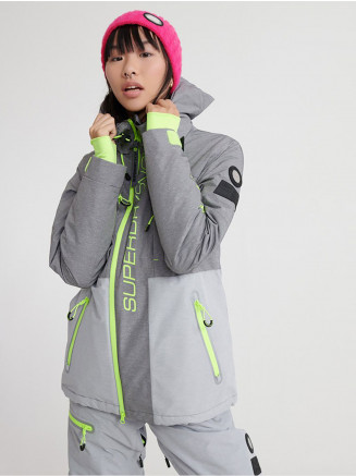 Womens Slalom Slice Ski Jacket Mixed