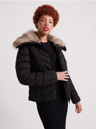 Womens Arctic Glaze Jacket Black