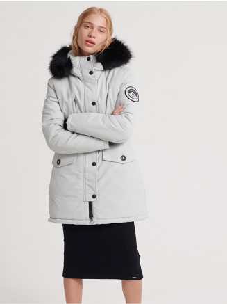 Womens Ashley Everest Parka Grey