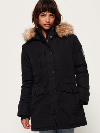 Womens Ashley Everest Parka Black