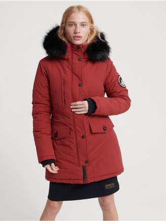 Womens Ashley Everest Parka Red