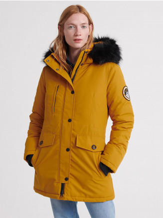 Womens Ashley Everest Parka Yellow