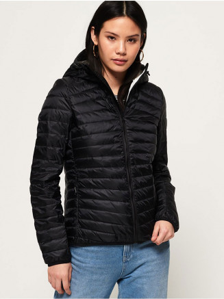 Womens Hyper Core Down Jacket Black