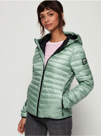 Womens Hyper Core Down Jacket Turquoise