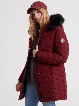 Womens Icelandic Parka Red