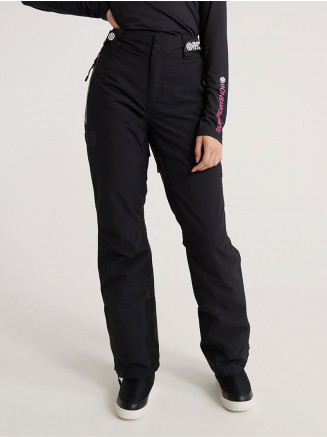 Womens Luxe Snow Pant Black