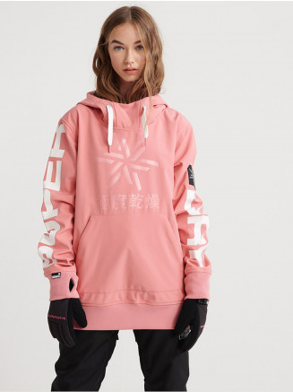 Womens Snow Tech Hood Pink