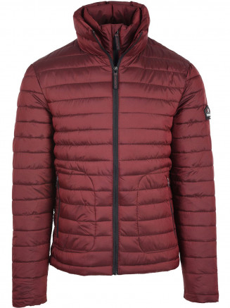 Mens Double Zip Fuji Red