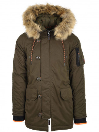 Mens Sdx Parka Green