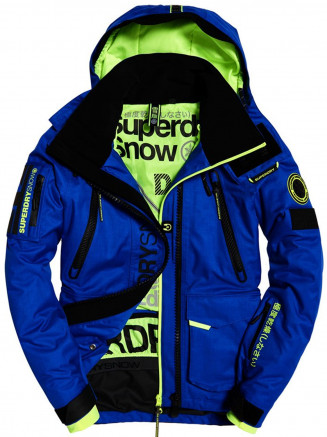 Mens Ultimate Snow Rescue Jacket Blue