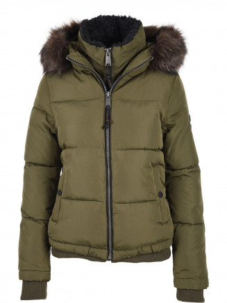 Womens Horizon Padded Jacket Green