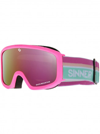 Kids Duck Mountain Goggle Pink