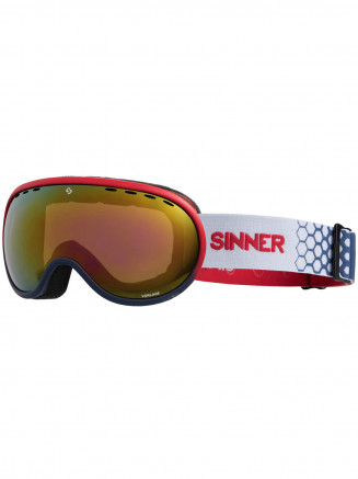 Mens Womens Vorlage Goggles Red