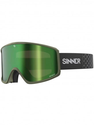 Mens Womens Sin Valley Goggles Green