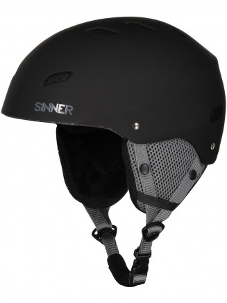 Mens Womens Bingham Helmet Black