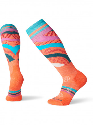 Womens Phd Ski Light Pattern Orange