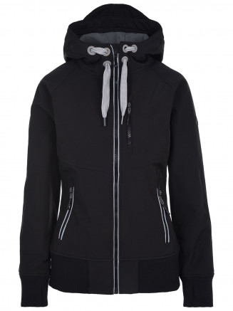 Womens Atria Softshell Jacket Black