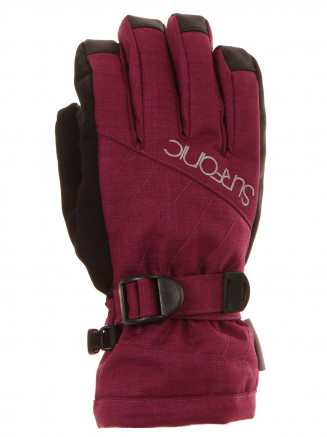 Girls Cushy Surftex Glove Pink