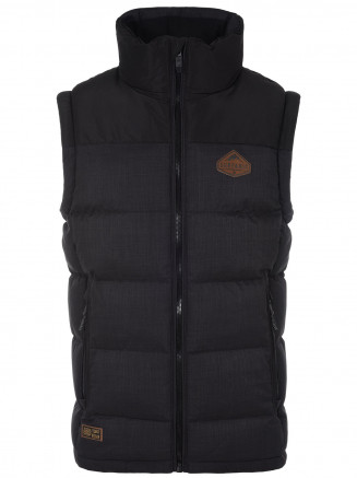 Mens Trapper Insulated Gilet Black