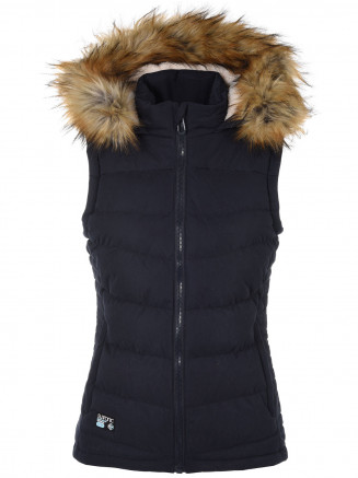 Womens Emmy Gilet Blue