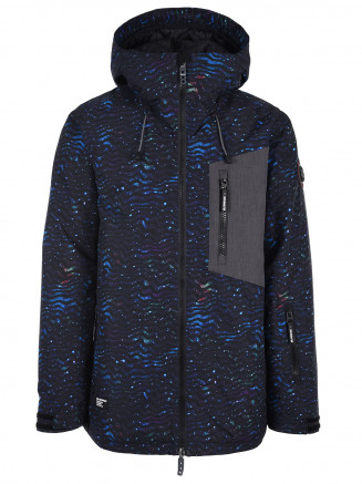 Mens Hendrix Surftex Ski Jacket Navy