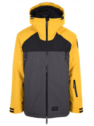 Mens Skyway Hypadri Ski Jacket Yellow