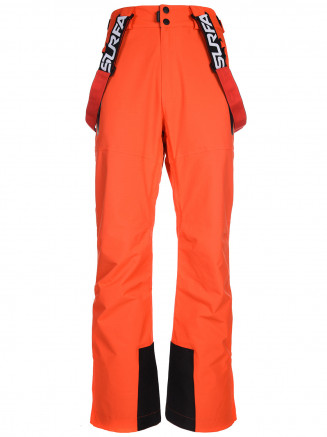 Mens Duel Hypadri Ski Pant Orange