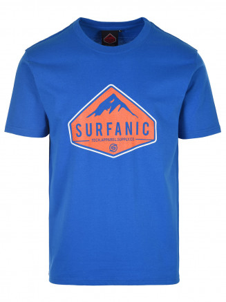 Mens Diamond T-shirt Blue
