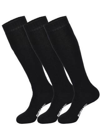 Mens Pro Tech 3pk Socks Black