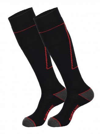 Mens Pro Socks 2pk Black