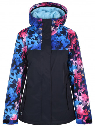 Womens Globe Surftex Jacket Navy