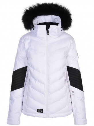 Womens Mercury Hypadri Ski Jacket White