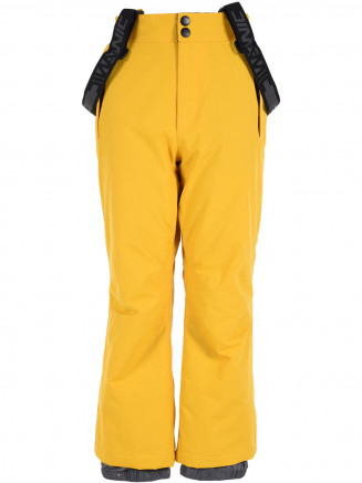 Boys Echo Surftex Ski Pant Yellow